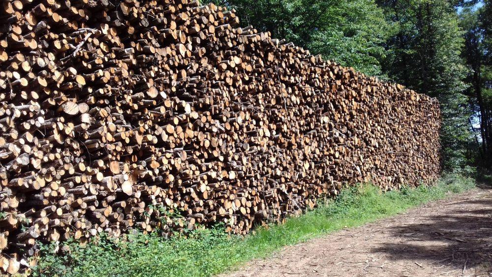 bois de chauffage Vendée