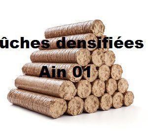 Bûches densifiées Ain 01