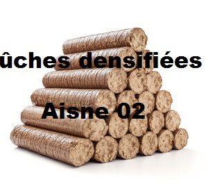Bûches densifiées Aisne 02