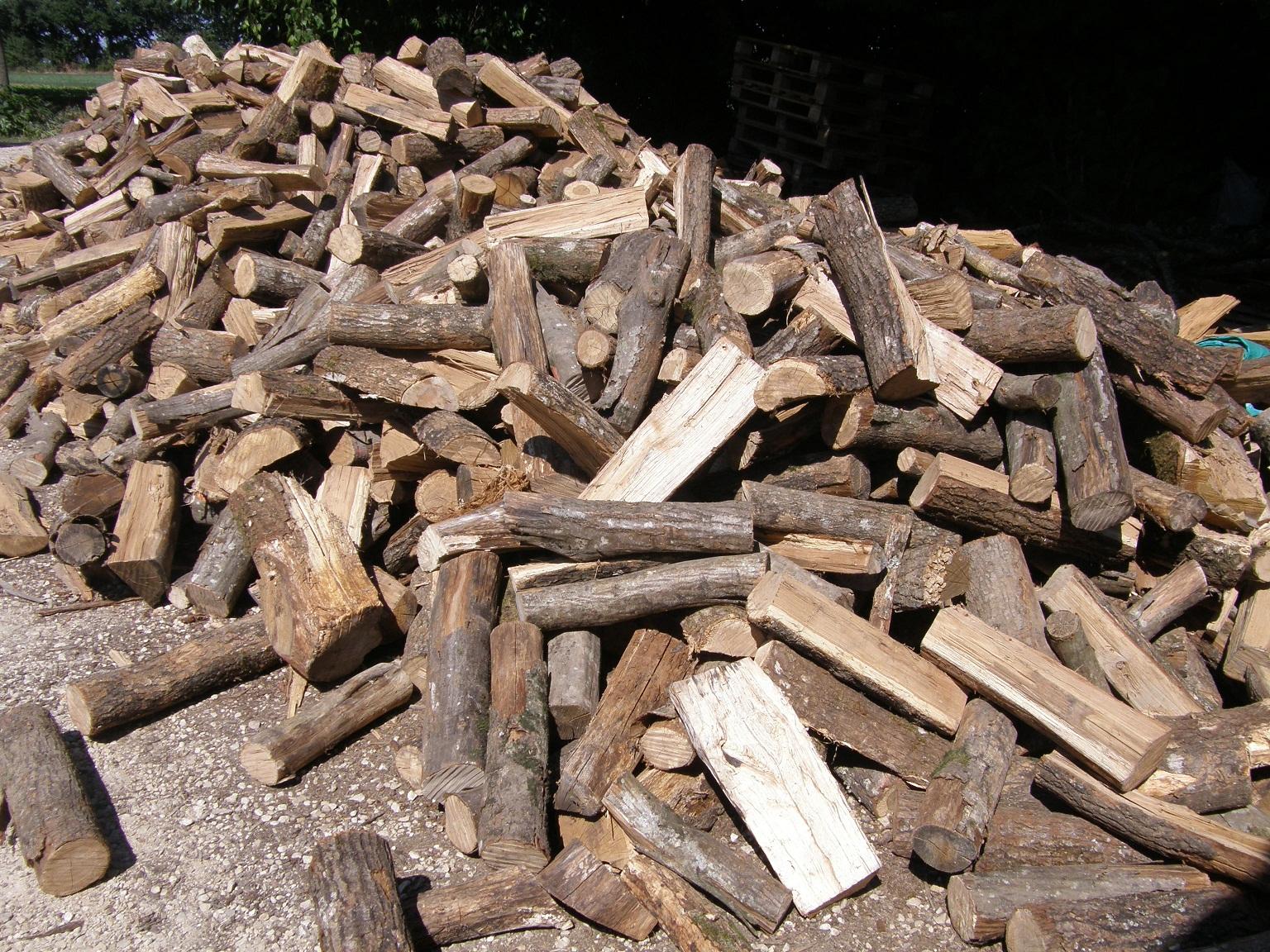 bûches traditionnelles vrac en 40 cm