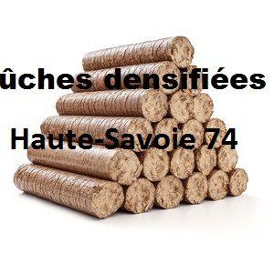 Bûches densifiées Haute Savoie