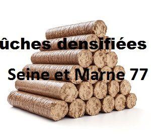 Bûches densifiées Seine et Marne
