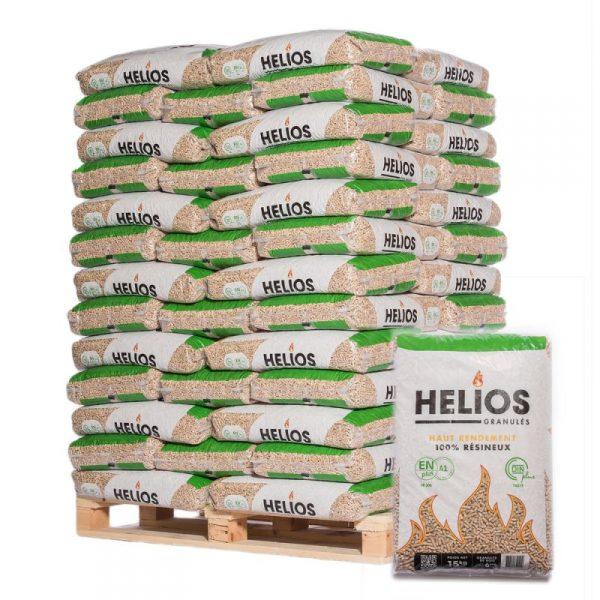 Palette de Pellets Hélios