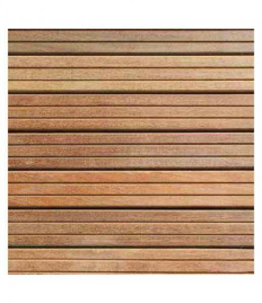 Dalle de terrasse bois en ipé