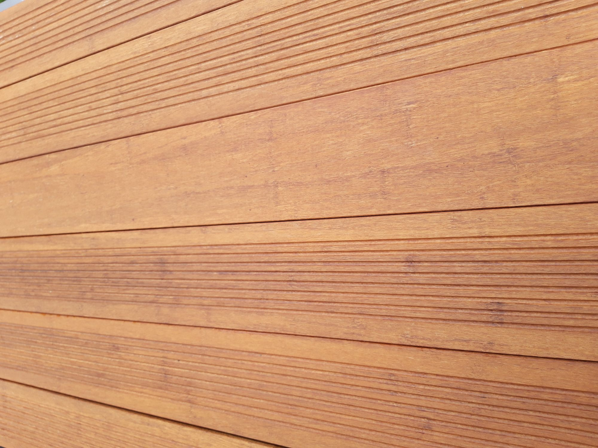 Terrasse en bambou n-durance