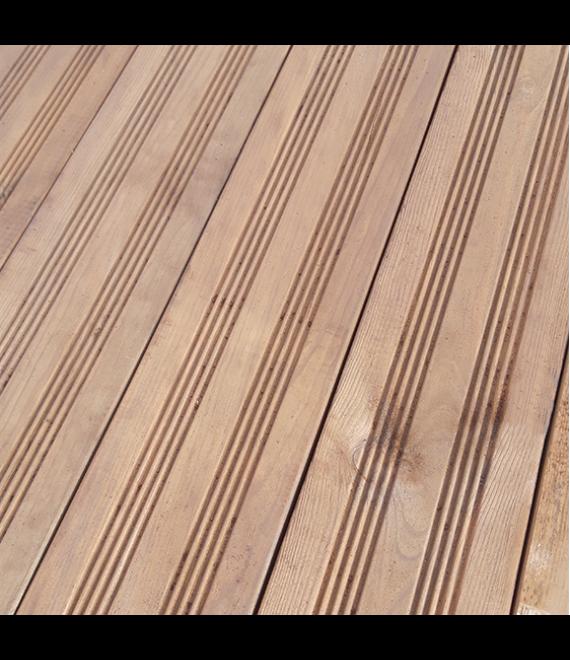 Terrasse pin CL4 marron