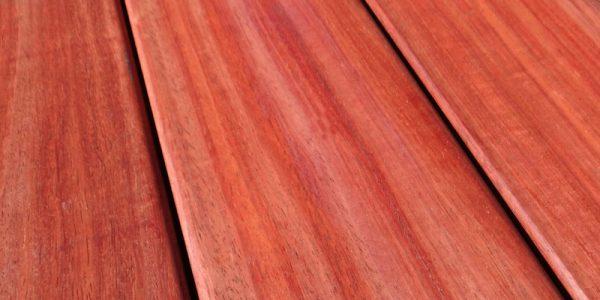 Dalle de terrasse bois en padouk